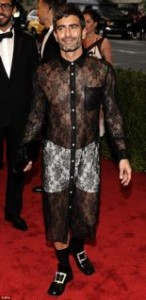 Marc Jacobs and Kristen Stewart were famous for their see-through clothes during 2012.