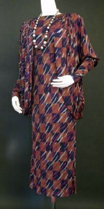 Missoni dress, mid 1980s, from the Fashion History Museum collection