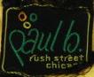 Paul B. label from yellow dress, c. 1968