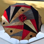 C. 1930 parasol - Deco at its best!