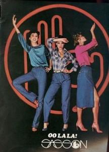 Sasson designer jeans, 1979