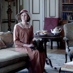 Lady Edith's simple day dress