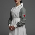 Lady Sybil's nursing uniform