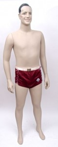 'Out of the West - Skintite' man's bathing suit by Reid's Holiday Togs Ltd., c. 1938 - 1944