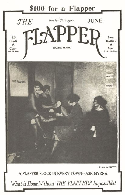 Cover of The Flapper magazine, June 1922