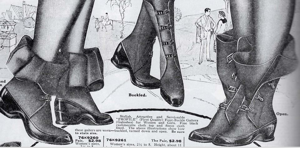Shoes Worn By Flapper Girls
