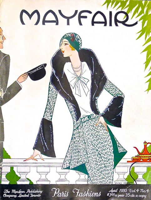 Mayfair, Canada's elite fashion and lifestyle magazine, 1931