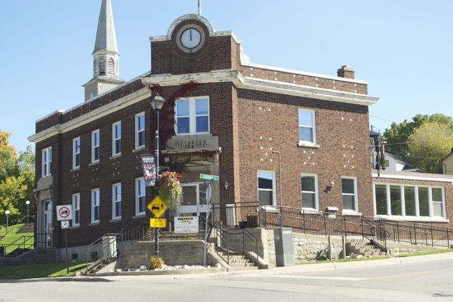 Hespeler's Old Post Office - 74 Queen Street, Cambridge. The future home of the Fashion History Museum