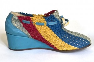 Perugia shoe from the collection of Melissa Leventon