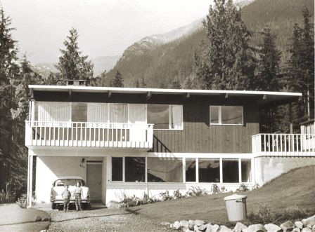 876 Canyon Blvd. North Vancouver, spring 1961