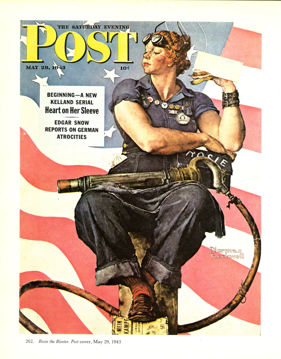 Artist Who Painted Rosie The Riveter