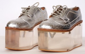 Recent acquisition for the FHM - Jeffrey Campbell Lucite shoes, c. 2010