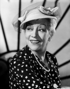 French actress Francoise Rozay, possibly wearing an Orski hat