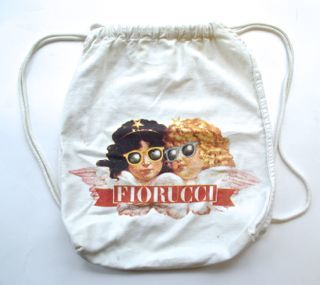 knapsack from the Fiorucci store in Rome, 1981, donated to the FHM by Liz Derbecker, 12.22.11