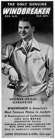 220px-Windbreaker-ad-1940