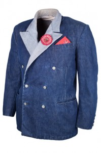 A reproduction of Levi's tux jacket, 2014