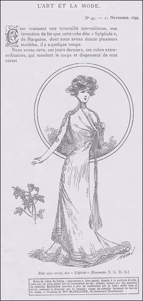 Robe-Sylphide, 1899