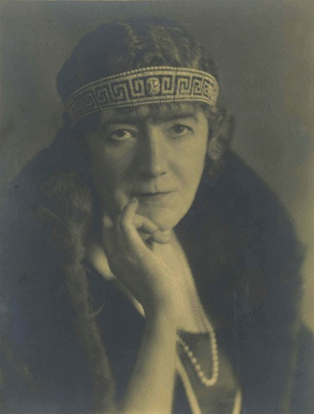 Lady Marguerite wearing the tiara, 1920s