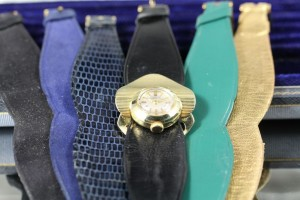 Gubelin watch with changeable straps