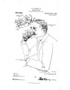 Moustache cup guard 1909