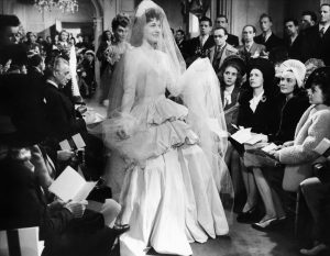 The wedding dress in the finale, spring 1945
