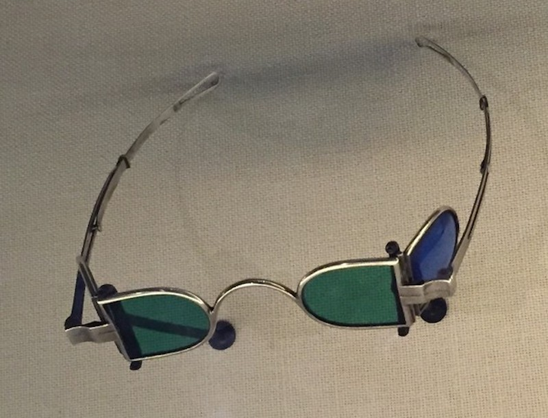 fa8c9511c2127 Olds is wearing shaded glasses